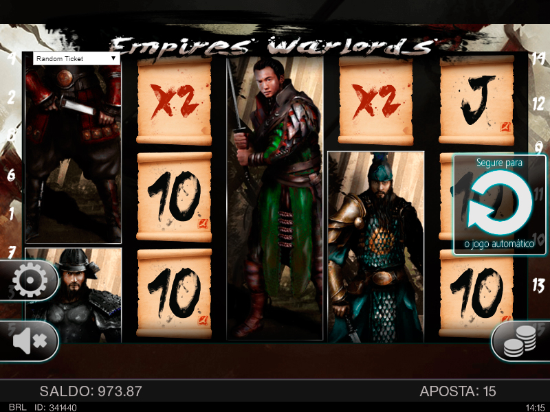 Empires Warlords Slot Machine