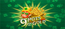 9 Pots of Gold is an online slot by Microgaming that has 5 reels and 20 paylines. With an Irish luck theme, it's playable from 20p to £60 a spin on all devices. Look out for pots as 3 or more will give you a cash prize – up to 2,000 x stake for 9. In the Free Spins feature, you can win unlimited free spins with a multiplier up to 3x. The RTP is 96.24%.