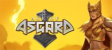 The eternal struggle between good and evil takes place in the Age of Asgard, with two 5x3 machines acting as a battlefield. 