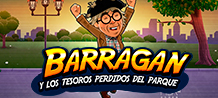 Spanish comedian Barragán is the star of the new production from Spanish Celebrities by MGA Games. The production has the True IP (Intellectual Property) of this outlandish character who can always be found with his old robe, beret and hideous glasses. You'll have great fun with Barragán while you win loads of prizes. Guaranteed absurd and naughty humour with Barragán y los tesoros perdidos del parque.