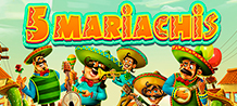Live a true Mexican festival! Celebrate the music and charisma of the traditional Mariachi band, but in a refreshing and fun way. The 5 Mariachi can add positivity and color to your life in just a few rounds!